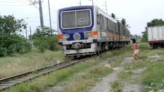 DMU Train (PNR) Arriving Sucat Station