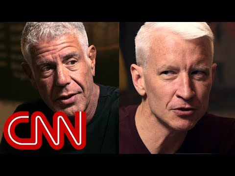Anderson Cooper's tribute to his friend Anthony Bourdain