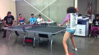 RED FOO vs SKY BLU in Ping Pong