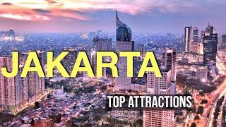 Tourist Attractions in Jakarta, Indonesia (Cinematic 4K) || Travel Buddies Films ||