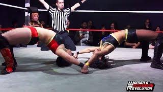 [Free Match] Karen Q vs. Tasha Steelz | Women's Wrestling Revolution (SHIMMER SHINE WSU WWR Stardom)