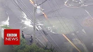 Deadly earthquake hits Japan - BBC News