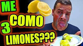 ME COMO 3 LIMONES???  WTF!!!   ·VLOG·