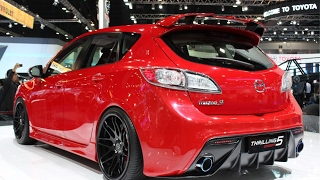 MAZDASPEED3 & MPS 3, DRAG, STREET RACE, EXHAUST SOUND!!!