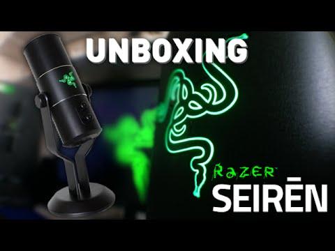 UNBOXING DU RAZER SEIREN ! :D (Unboxing + Test)