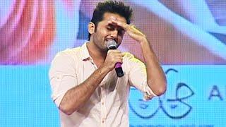 Nithiin Comical Speech @ A Aa Movie Audio Launch | TFPC