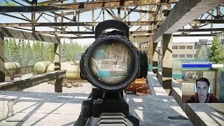 Хардкорный Снайпер в Escape from Tarkov(Новый Патч)