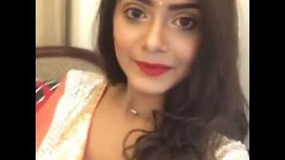 Tanjin Tisha | Live on | facebook |  Bangladashi Model | 2016