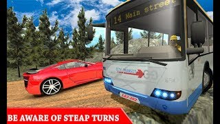 Modern Gunung Bus Supir: Modern Mountain Bus Driver: Uphill Driving Coach