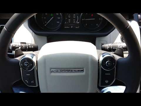 2017 Land Rover Discovery engine start up