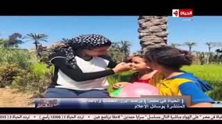 الحياة في مصر | فوق عربة كارو: رنا صلاح تعالج نفسها من الجلطة! تقرير: رحاب عز الدين