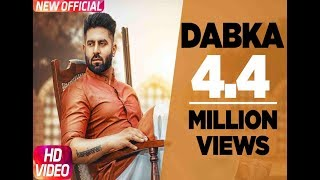 Dabka (Full Video) | Harsimran feat Firoza Khan | Latest Punjabi Song 2018 | Speed Records