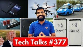 Tech Talks #377 - Galaxy A8, Vodafone Killer Offer, 10.or.D, US Drone, Ola Foodpanda, Nokia 9