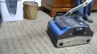 DUPLEX multipurpose floor machine cleaning dirty carpet