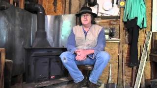 BLACKSMITHING HOW TO MAKE CHARCOAL FOR THE FORGE