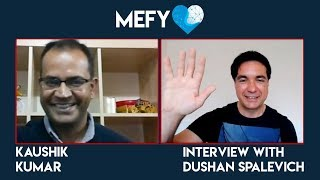 MeFy - Co-Founder Kaushik Kumar Interview With Dushan Spalevich for ICO TV