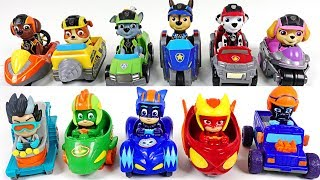 Villains are harassing Paw Patrol! Go! PJ Masks race into the night mini vechile - DuDuPopTOY