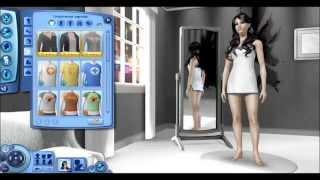 The Sims 3/Создание персонажа #5/Темная фея.