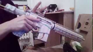 Paper M4 ar 15 shooting test (funny fail)