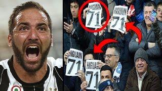 ما سر الرقم 71 الذي رفعته جماهير نابولي ضد جونزالو هيجواين؟