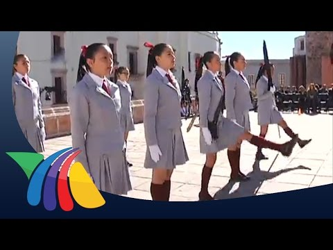 Concurso de escoltas Noticias de Zacatecas