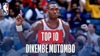 Dikembe Mutombo Top 10 Blocks of His Career
