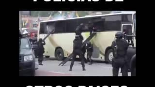 Policias de otros paises vs policias de mexico