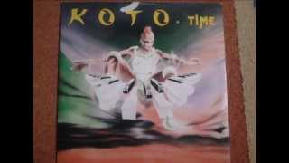 Koto - Time (Dance Mix) - Maxi Single - ZYX Records - 1989 (Vinyl)