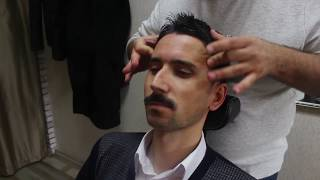 ASMR Turkish Barber Face,Head and Body Massage 67