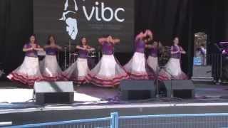 Leela Dance Group - Nagada Sang Dhol (Goliyon Ki Raasleela Ram-Leela) @  VIBC 2014