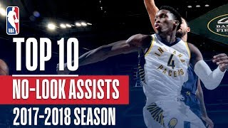 Top 10 No-Look Assists: 2018 NBA Season