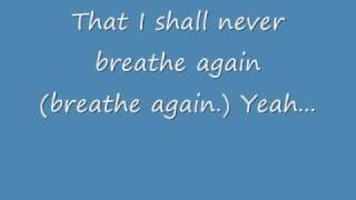 Toni Braxton - Breathe Again (Lyrics)