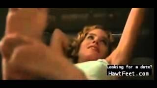 bare feet scene - Christina Applegate in Kiss of fire 1998