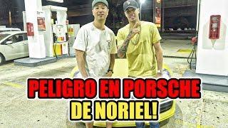 Noriel paseo en su Porsche