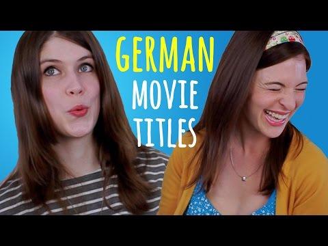 MOVIE TITLES: German vs. Original English