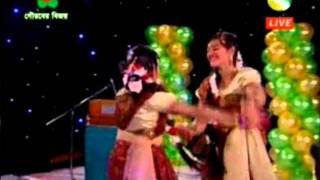 Aaj Jonmodin Tomar -Dance(Utshab Moncho Channel S 7th Anniversary 2011, Kids Show)