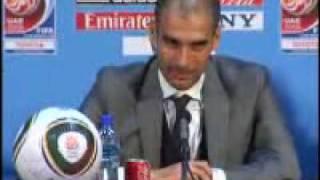Rueda de prensa de Guardiola en Abu Dhabi