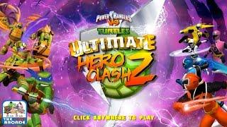 Power Rangers VS Teenage Mutant Ninja Turtles: Ultimate Hero Clash 2 (Nickelodeon Games)