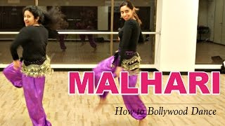 Malhari (Bajirao Mastani) || How to Bollywood Dance-Tutorial || Francesca McMillan