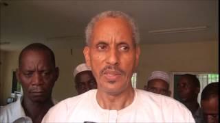 Chérif Habib AIDARA, Maire de Bonconto:  Interview avec les médias après son investiture