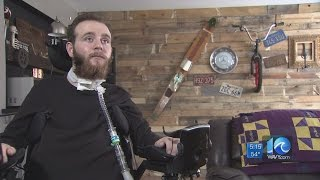 Paralyzed teenager back in home renovated by community