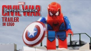 Captain America: Civil War - Trailer 2 IN LEGO