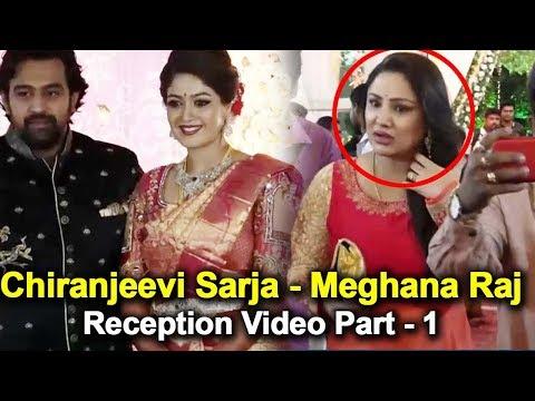 Xxx Mp4 Chiranjeevi Sarja Meghana Raj Reception Video Part 1 Chiranjeevi Sarja Meghana Raj Marriage Video 3gp Sex