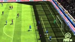 FIFA 14 - Gol de falta de Saul Macedo 2