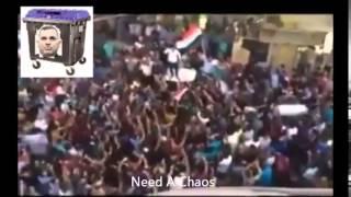 جانب من مظاهرات المحافظات المستمرة لحد الان ودعوة الى مضاهرات مليونية يوم 20-8-2015