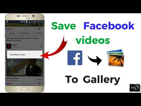Xxx Mp4 How To Save Facebook Videos In Gallery Without Any Android App Just One Click 3gp Sex