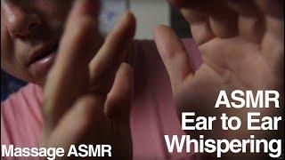 ASMR Hand Movements, Whispering / Inaudible & Relaxation