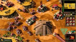 CnC Red Alert 3 Comp Stomp Online Gameplay HD #4
