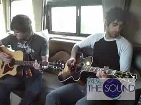 94.9 The Sound Boys Like Girls Thunder LIVE On Tour Bus