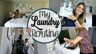 MY EASY LAUNDRY ROUTINE 2018 :: SAHM CLEAN WITH ME :: LAUNDRY TIPS & FAVORITE PRODUCTS